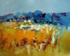 Abstract Landscape Painting, Landscape Art, Landscape Paintings, Abstract Art, Creative Artwork, Painting Inspiration, Cool Art, Art Gallery, Illustration Art