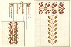 Ornamentul naţional moldovenesc Folk Embroidery, Cross Stitch, Symbols, Traditional, Rugs, Floral, Album, Handmade, Romania