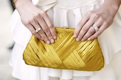 Bridal and bridesmaid clutches