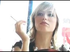 ▶ attractive blonde lady.......mp4 - YouTube