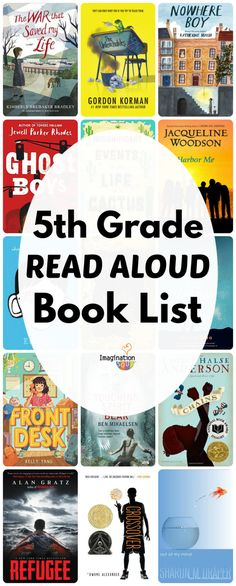 do lists or books I'm continuing my read aloud book lists, this week is for grade. These books will provide a wealth of instructional and discussion opportunities. 5th Grade Books, 5th Grade Ela, Teaching 5th Grade, 5th Grade Teachers, 5th Grade Classroom, 5th Grade Reading, Fifth Grade, Classroom Ideas, Classroom Libraries