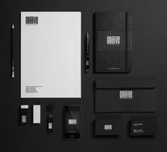 GROOVE // Corporate Identity by Ramy Mohamed, via Behance