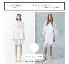 Best of Resort 2014 Color & Silhouette Trends (that you can incorporate into your wardrobe now!) via stylemachineblog.com
