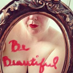 """Meet the woman behind the """"be beautiful"""" campaign who's changing the face of beauty standards by posing naked on the streets of Brooklyn. This story and her pictures make me feel so empowered. I wish I'd had pictures like this to look at growing up, then maybe it wouldn't have taken me 25 years to learn to love my body."""