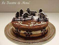 Il Goloso Mondo di Minu': Christmas TRImousse Christmas Snacks, Xmas Food, Christmas Cookies, Elegant Birthday Cakes, Cake & Co, Holiday Cakes, Let Them Eat Cake, Pavlova, Cupcake Cakes