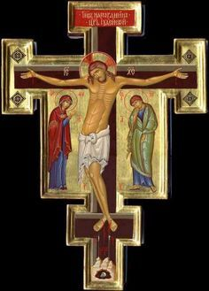 Byzantine Icons Holy Savior: The Crucifixion of the Lord Jesus-Christ For more daily inspiration go to http://www.godismyguide.com