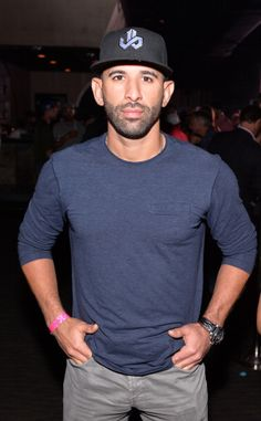 Jose Bautista of Toronto Blue Jays attends MLB.com All-Star Bash sponsored by Firestone, Captain Morgan White Rum and Buffalo Wild Wings at Epic on July 13, 2014 in Minneapolis, Minnesota Blue Jay Way, Go Blue, Buffalo Wild Wings, Captain Morgan, Baseball Boys, Toronto Blue Jays, All Star, Minneapolis Minnesota, Bats