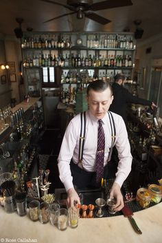 Bartender Style - Maison Premiere Williamsburg, Brooklyn