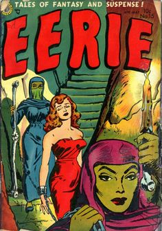 Comic Book Cover For Eerie v1 #15