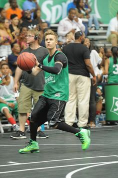 JB at the all-star game