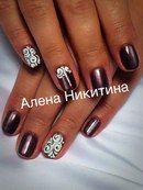 Дизайн ногтей КОШАЧИЙ ГЛАЗ