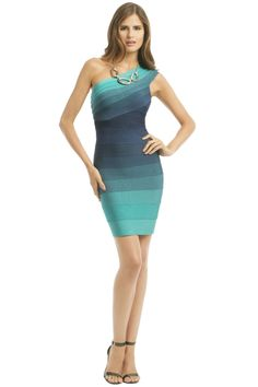 be6d848bc35 Hervé Léger Shoreline Sheath. Hervé Léger Shoreline Sheath - possible  rehearsel dinner dress. Hannah Pier · Rent the Runway