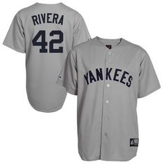 Majestic Mariano Rivera New York Yankees Cooperstown Collection Throwback  Jersey - Gray New York Yankees Shop 02bf5f39bf91f