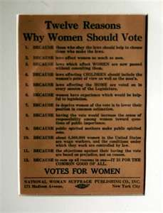 Image Search Results for womens suffrage poster