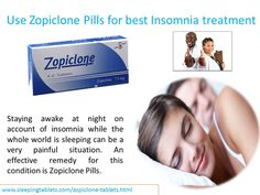 Staying awake at night on account of insomnia while the whole world is sleeping can be a very painful situation. An effective remedy for this condition is Zopiclone Pills. It allows you to sleep peacefully after calming your brain and central nervous system. This pill is highly popular among sleep deprived patients for insomnia treatment UK.  It is noteworthy to mention that best Insomnia medicines  has received certification from FDA. However, it should not be used by patients of heart…