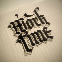 Typography Inspiration: Calligraphic Masterpieces