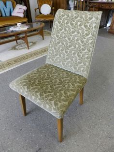 Dining Chair 2 available Great Upholstery Project ---------------------------------  £10 each (PC073)