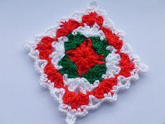 Ravelry: LD-0116 Christmas afghan block pattern by Crochet- atelier
