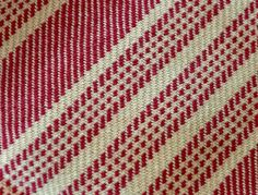 Handwoven Cotton Twill Dishtowel Hand Hemmed by AllMyCreations