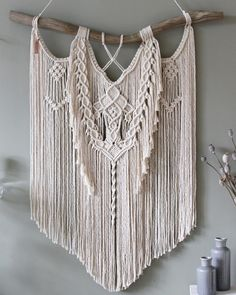 Almost Februari, my favorite season, early Spring is knocking on the door. New leaves, new life. • Macrame wall hanging 'From The Roots' • #macramewallhanging #macramemovement #macrame #etsynl #etsyshopping #handmadeisbetter #lovehandmade #handmadeloves #cylcollective #makersvillage #creativepreneur #creativityfound #supporthandmade #wallhanging #wallartdecor #rawcotton #modernmacrame #modernbohemian #modernboho #modernbohochic #gypsychic #bohohome #bohemianinterior