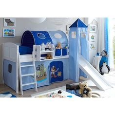 Bring your children's bedroom to life with our range of Bedroom Furniture. Shop bunk beds, children's beds, cabin beds & novelty beds for kids. Mid Sleeper Bed, Bunk Beds, Storage Chest, Mattress, Kids Room, Toddler Bed, Beige, Cabinet, House
