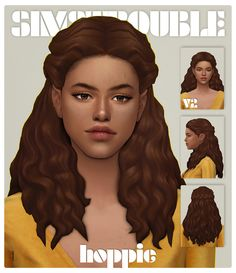 simstrouble is creating CC for The Sims 4 Sims 4 Curly Hair, Sims Hair, Curly Hair Styles, Sims 4 Cc Packs, Sims 4 Mm Cc, Sims 4 Mods Clothes, Sims 4 Clothing, Sims 4 Cas, My Sims