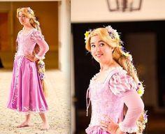 Rapunzel Costume (by Aimee S) http://lookbook.nu/look/2617355-Rapunzel-Costume