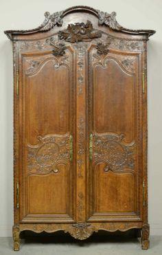 Very nice Normandy Wedding armoire