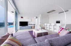 Baobab Suites 5* Tenerife amueblado por la empresa especializada en diseño y fabricación de mueble de diseño Megamobiliario. División Contract. Esta es la suite Boutique Mar.
