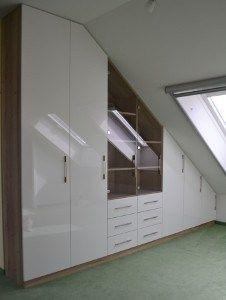Schlafzimmerschrank F Dachschr臠e