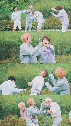 Bts trying to stop jungkook from his nonsense Bts Jungkook, Namjoon, Taehyung, Bts Lockscreen, Foto Bts, Bts Ships, Kpop Anime, Bts Season Greeting, Bts Group Photos