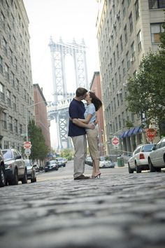 Engagement Photographs in Brooklyn NY  www.ronbwilson.com