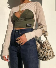 If you love this outfit inspo check out more 🔥🥵 Aesthetic Fashion, Look Fashion, Aesthetic Clothes, Fashion Design, Mode Outfits, Trendy Outfits, Fashion Outfits, Womens Fashion, Fashion Trends