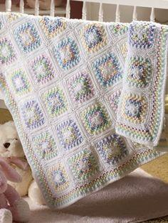 Free Crochet Pattern: Grandma's Double Delight