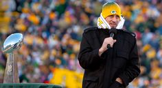 Super Bowl MVP Aaron Rodgers addressed a message for Green Bay Packers fans during ceremony at Lambeau Field. Description from nflnewsworld.com. I searched for this on bing.com/images