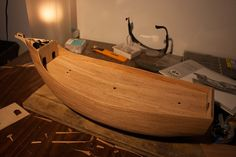 Placing the main deck Models, Model Ships, Santa Maria, Dremel, Deck, Places, Arch, Templates, Concept Ships