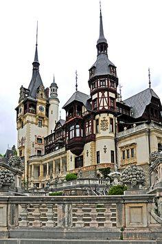Peles Castle, Cumpætu, Sinaia, Prahova, Romania