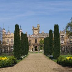 Knebworth House, Hertfordshire, England. One of England's most beloved stately homes, a world famous venue for rock concerts and as the home of Victorian novelist Edward Bulwer Lytton, author of the words 'The pen is mightier than the sword'