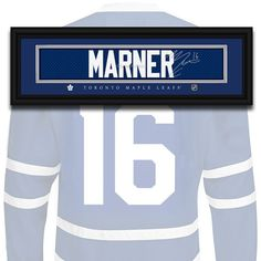 Toronto Maple Leafs - Mitch Marner - NHL Jersey Name Print