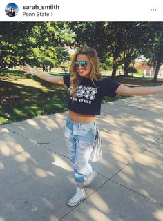 Gamedays are treated like a national holiday here at PSU. If you wear any of these adorable outfits, you will look fly AF. If you need some blue and white inspiration for your next gameday, here are 10 adorable gameday outfits at Penn State! 1. The...