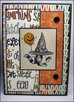 handmade halloween card by masonjarcards on etsy 500