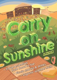 """""""Carry On Sunshine"""" Monthly Campaign (June 2015)"""