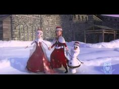 Elsa Christmas Song Kids