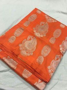 Pure kanchi pattu border less sarees Order what's app 7995736811