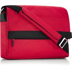Solid Red Reisenthel Messenger Bag Flap Bag $49.99