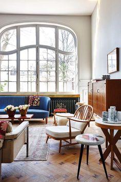 mid century modern bedroom | Scandinavian Design Interior Living | #scandinavian #interior
