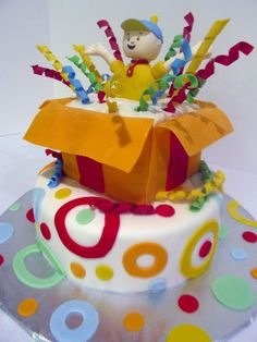 Caillou Birthday www.facebook.com/pinkteaspoon