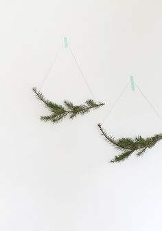 DIY 30 second holiday garland | almost makes perfect