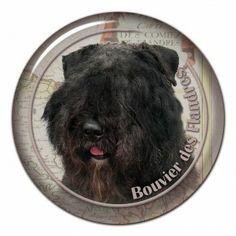 Bouvier des Flandres 3D sticker - #bouvierdesflandres #bouvier