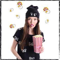Belle goes POP for POPCORN!!! @belleprgirl